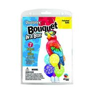 "Foil & Latex Balloon Bouquet - Tropical Parrot - 7pc - 11""-50"""