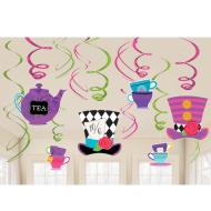 Swirl Decoration Value Pack - Mad Tea Party