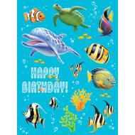 Stickers-Ocean Party-4 Sheets