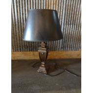 Table Lamp w Black Shade