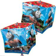 "Foil Balloon - Cube - Thomas and Friends - 15""x15"""