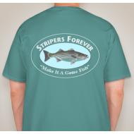 Stripers Forever Pocket Tee