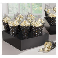 Snack Cones with Trays