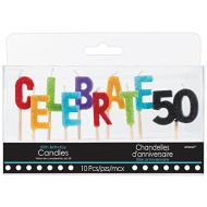 Candles-Pick-Celebrations 50-10pk