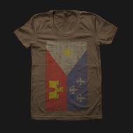 Acadian Flag Army Womens Tee