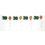 Garland-Foil-30th Birthday-1pkg-10ft