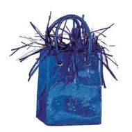 "Balloon Bag Weight-Royal Blue-1pkg-3""x2.5"""
