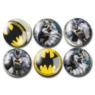 Party Favors-Batman Bounce Balls-6pkg-1.25""