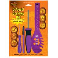 Colossal Carving Kit-Halloween Pumpkin-1pkg