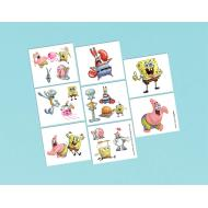 Tattoos-SpongeBob-16pk