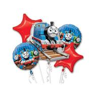 Foil Balloon Bouquet - Thomas and Friends - 5 Balloons -2.4ft