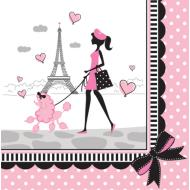 Napkins-LN-Party in Paris-18pkg-2ply - Discontinued