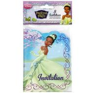 Invitations-Princess and the Frog-8pk (Discontinued)