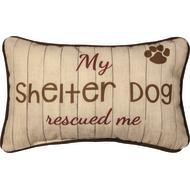 My Shelter Dog Rescued Me Pillow