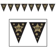 Pennant Banner-VIP Hollywood-1pkg-12ft