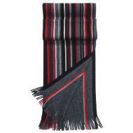 Fraas Tweedy Reversible Stripe Scarf