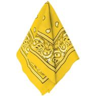 Bandana-Yellow-20''