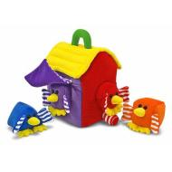 MELISSA&DOUG BIRD HOUSE SHAPE SORTER