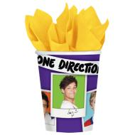 Cups-One Direction-Paper-9oz-8pk