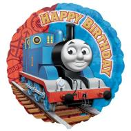 Foil Balloon - Thomas and Friends Birthday - 18""