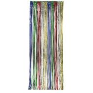 Door Fringe-Foil-Multi-Colour-1pkg