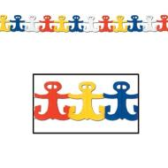 Garland-Tissue-Nautical Anchors-1pkg-12ft