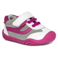 Cliff Shoe - White/Fuchsia
