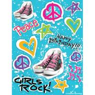 Stickers-Totally 80's-1pkg-4 Sheets