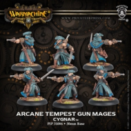 Warmachine: Cygnar - Arcane Tempest Gun Mages (rev)