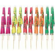 Picks-Umbrella-Multi Color-20pk