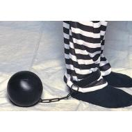 Costume Accessory-Black Ball & Chain-1pkg