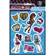 Stickers-Monster High-4shts