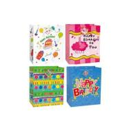 "Gift Bag-Assorted Birthday Wishes-1pkg-13""x10.5""x6"""