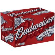 Budweiser Case Bottles 4/6pk - 12oz
