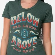 Below Above Womens Tee