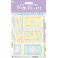 Prize Tickets-Baby Shower-48pk
