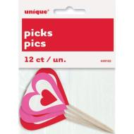 Picks-Hearts-8pk-Plastic