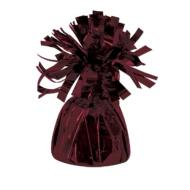 "Balloon Weight-Metallic-Maroon-1pkg-4.5""x2.25"""