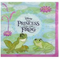 Napkins-BEV-The Princess and Frog-16pk-2ply (Discontinued)