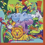 Napkins-BEV-Smiling Safari-16pkg-2ply
