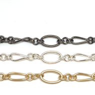 Oval and Twisted Oval Link Chain