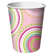 Paper Cups-Mod Butterfly-8pkg-9oz - Discontinued