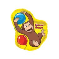 Foil Balloon - Shaped - Curious George - 36''