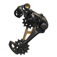SRAM XX1 Eagle 12-Speed Type 3 Rear Derailleur, Black with Gold Trim
