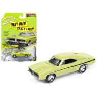 Johnny Lightning Dirty Mary Crazy Larry 1969 Dodge Charger R/T Green 2017 Series Release 3 1:64 Scale Diecast Model Car