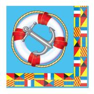 Napkins-BEV-Nautical Flags-16pkg-2ply