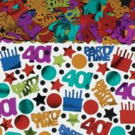 Confetti-Dots and Stripes 40th Bday-2.5oz