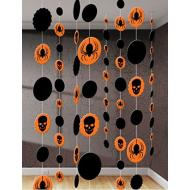 Danglers-String Decor-Halloween-Black&Orange