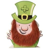 Centerpiece-Fur-Riffic Leprechaun-1pkg-7.5""