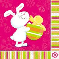 Luncheon Napkins- Easter Bunny- 16pk/2ply